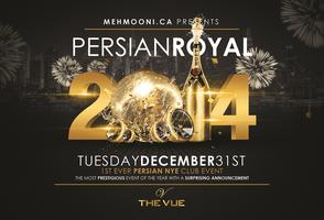Persian Royale - NYE in STYLE!