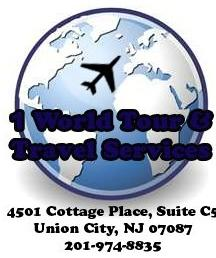 1 World Tour & Travel Services logo