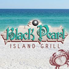 Black Pearl Island Grill logo