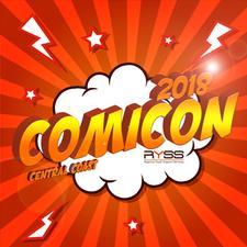 Central Coast Comicon 2018 logo