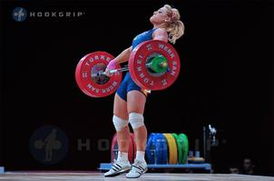 Lydia Valentin and the Spanish National Team Weightlift...