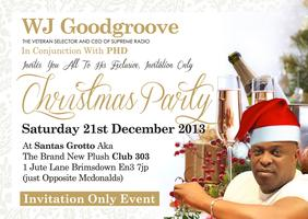 WJ GOODGROOVE EXCLUSIVE CHRISTMAS PARTY