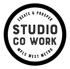 Studio CoWork      Jenna Redfield, Community Manager logo