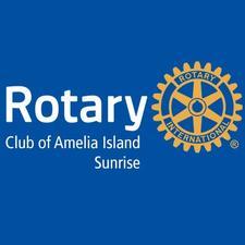 Rotary Club of Amelia Island Sunrise logo