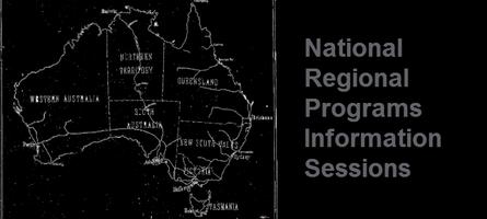National Regional Programs: Information Session...