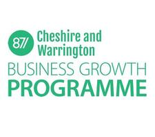 University of Chester: ERDF Funded Cheshire & Warrington Business Growth Programme logo