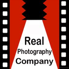 The Real Photography Company logo