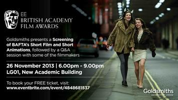 BAFTA Nominated Shorts Screening at Goldsmiths
