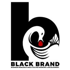 Black BRAND logo