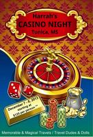 Harrah's Casino Night from Phenix City AL to Tunica MS