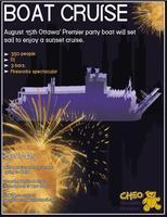 CHEO Boat Cruise w/DJ & Casino Fireworks Spectacular
