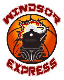 WINDSOR EXPRESS BASKETBALL TEAM logo