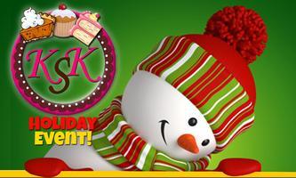 Kim Stratton's Kitchen at Christmas Toys Event