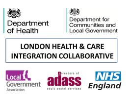 Integrated Care in London #BettercareLDN