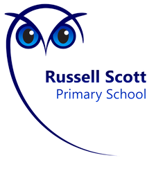 Russell Scott Primary School logo