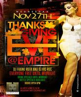 Empire Hotel Thanksgiving Eve party - 2013