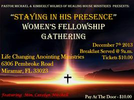 Womens Fellowship Breakfast