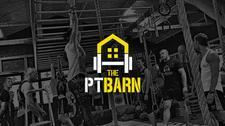 The P.T Barn logo