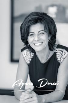 Agnes DORAI, formatrice, conférencière, Coach professionnel certifiée ACC, ICF. Expert en stratégie de développement et performance, Spécialiste dans l'accompagnement du changement des dirigeants PME et des individus. logo