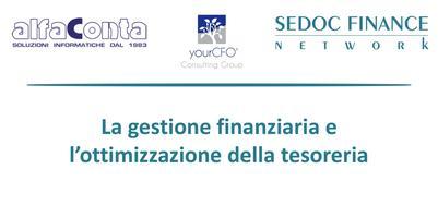 La Gestione Finanziaria e l'ottimizzazione della...
