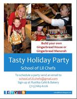 School of Lil' Chefs Tasty Holiday Party
