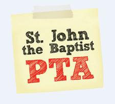 St John the Baptist CofE Primary School PTA logo