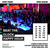 Best Friday Happy Hour! Beat the Clock Happy Hour at...