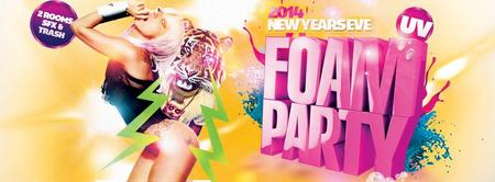 SFX New Years Eve UV Foam Party - discounted tix