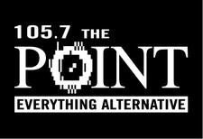 105.7 The Point logo
