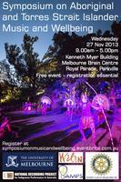Symposium on Aboriginal and Torres Strait Islander Musi...