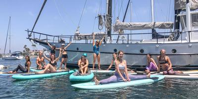 Sweat in SD x SUP Bliss Yoga