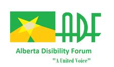 Alberta Disabilities Forum (ADF) logo