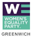 Women's Equality Party Greenwich  logo