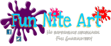Fun Nite Art, LLC logo