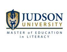 Judson University Graduate Programs in Literacy Education logo