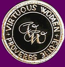 The Virtuous Women's Ministry logo