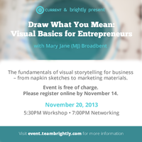 Draw What You Mean: Visual Basics for Entrepreneurs