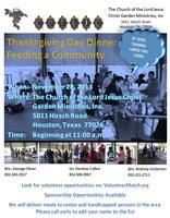 10th Annual Thanksgiving Community Feeding 2013