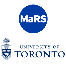 MaRS Discovery District and the Office of the Vice-President, Research and Innovation, University of Toronto  logo