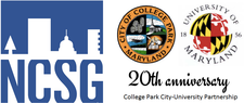 The College Park City-University Partnership and the National Center for Smart Growth logo