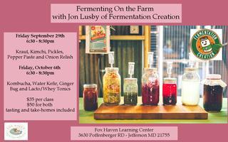 Fermenting On The Farm: September 29th