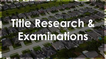 Title Research & Examinations event - Dallas, Tx **LIVE**