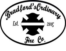 Bradford's Ordinary Fire Co. logo