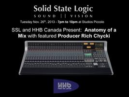 SSL and HHB Canada present - Anatomy of a Mix with...