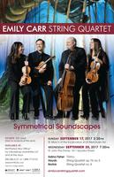 Emily Carr String Quartet: Symmetrical Soundscapes