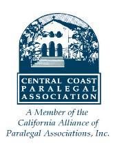 Central Coast Paralegal Association (CCPA) logo