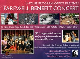 I-HOUSE HOLIDAY FAREWELL CONCERT 2013 BENEFIT...
