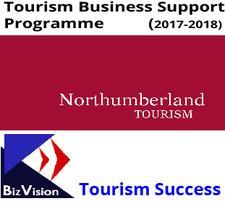 Northumberland Tourism and BizVision logo