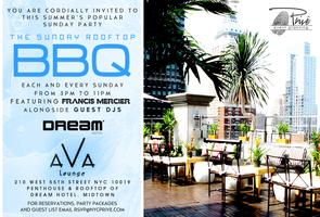 Free Rooftop BBQ Brunch on Sundays At Ava Dream Hotel