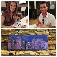 "Art Wine Down ""Charlotte Skyline"" 11/23"